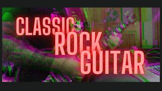 My classic rock backing track and lead. Jamming out.