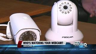 Who's peeping through your home webcams? - Video