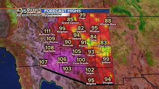Storms returning to the Valley bringing muggy temps! - Video
