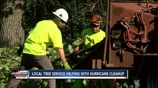 Local tree removal company heading east to help with Florence victims