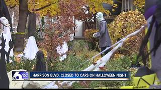 Boise's popular Harrison Boulevard to be shut down for Halloween event - Video