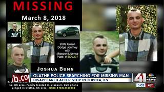 Olathe police search for missing man - Video