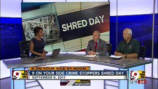 9 On Your Side Crime Stoppers Shed Day - Video