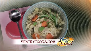 What's for Dinner? - Crock Pot Chicken Noodle Soup