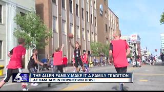 Idaho family is making a family tradition of Bam Jam - Video