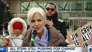 Jill Stein in Detroit - Video