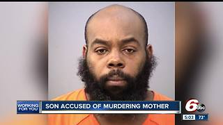 Police say man beat his mother to death