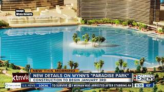Steve Wynn announces new plans for Paradise Park - Video