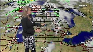 Tracking rain & cool temps