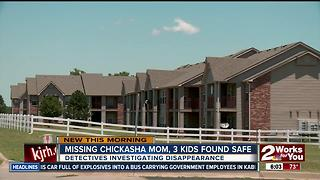 Missing Chickasha mom, 3 kids found safe - Video