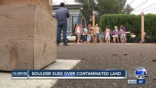 City of Boulder sues Xcel Energy over contamination cleanup at 13th Street Plaza - Video