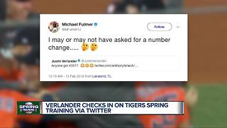 Justin Verlander creates Twitter buzz as Tigers start first camp in over a decade without him - Video