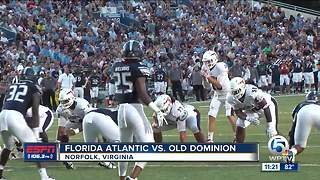 FAU Shatters Records in 58-28 Rout of Old Dominion
