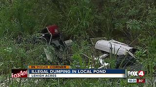 Illegal dumping site in Lehigh Acres causes concern - Video