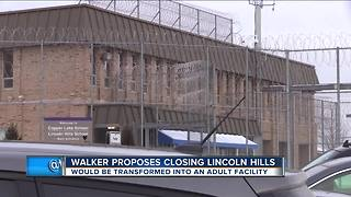 Walker to close troubled Lincoln Hills prison, open regional teenage prisons - Video