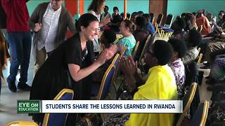 Teaching trip to Rwanda provides many lessons for Buffalo State students - Video