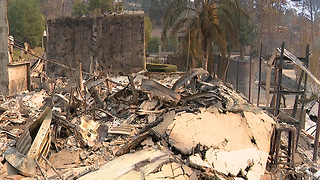 Inside the Southern California wildfires - Video