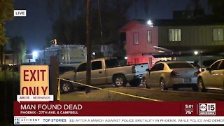 Homicide investigation in Phoenix