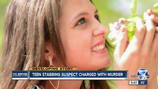 15-year-old boy accused in deadly Longmont stabbing faces first-degree murder charge - Video