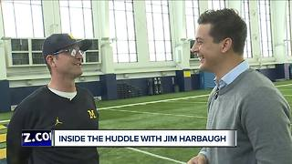 Harbaugh talks Cincinnati win, trying to get Obamas as honorary captains - Video