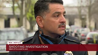 Milwaukee Police Chief Alfonso Morales addresses a fatal shooting near 27th and North