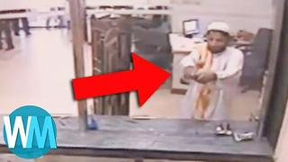Top 10 Robbery FAILS Caught on Tape - Video