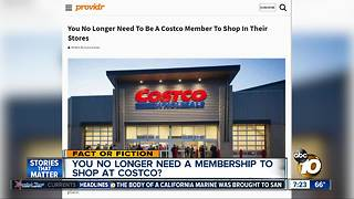 Costco eliminating memberships? - Video