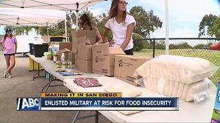 Making It in San Diego: Military Hunger