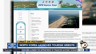 North Korea launches tourism website?