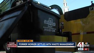 Former trash worker settles retaliation claim