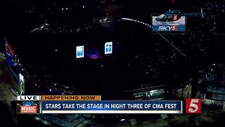Big Stars Perform On CMA Fest Day 3 - Video