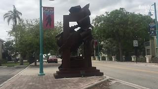 New sculptures popping up around Boynton Beach - Video