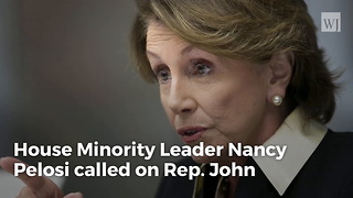 Nancy Pelosi Issues Devastating Statement Against John Conyers - Video