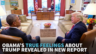 Obama's True Feelings About Trump Revealed In New Report - Video