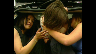 15 People Crammed Into A Smart Car - Video