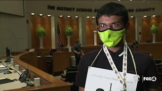 Collier County spelling bee runner up proud of achievement