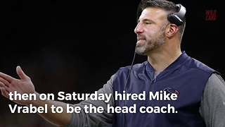 Former Patriot Mike Vrabel To Be Titans Head Coach - Video