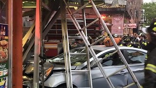 Multiple Shoppers and Pedestrians Injured After Car Crashes Into Chelsea Deli - Video