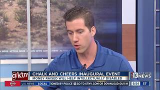 Skye Canyon hosting Cheers for Charity Chalk and Cheers event - Video