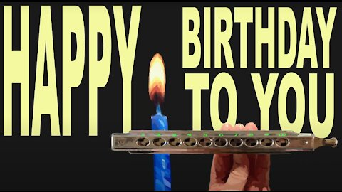 How to Play Happy Birthday to You on a Chromatic Harmonica
