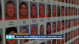 Polk Co. deputy arrested in human trafficking sting - Video