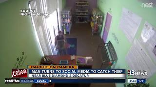 Man caught on camera stealing tablet at pet store