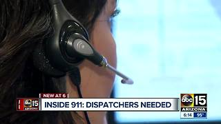 Phoenix and other Valley departments hiring 911 dispatchers - Video