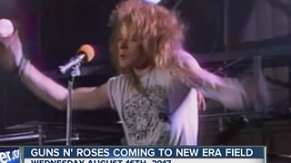 Guns N' Roses to perform at New Era Field - Video