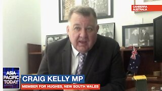 ASIA PACIFIC TODAY. Liberal MP Craig Kelly discusses early covid treatment & censorship.