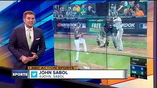 C.J. Cron, Joey Wendle and Wilson Ramos hit consecutive homers as Tampa Bay Rays beat Oakland A's - Video