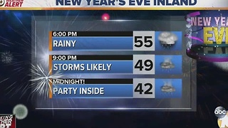 Breaking Weather Alert: Businesses Preparing for Rainy New Year's Eve - Video