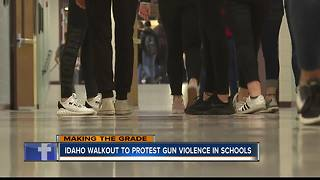 Students Organize Walkout for #Enough Movement - Video