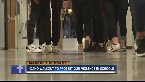 Students Organize Walkout for #Enough Movement