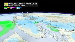 Another low elevation snow tease, latest snow scoop for B.C.